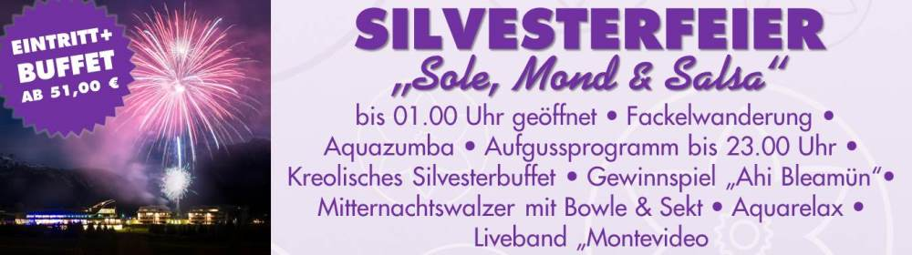 Pop Up Sole Silvesterfeier 2017