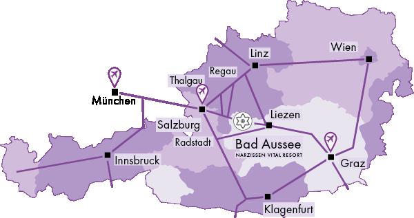 Flughäfen Karte