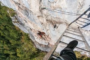 Klettersteig Echernwand