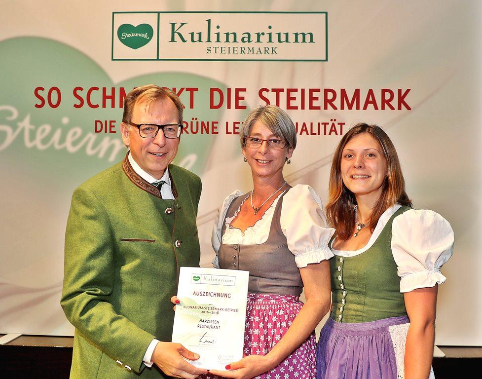 Kulinarium Steiermark Verleihung
