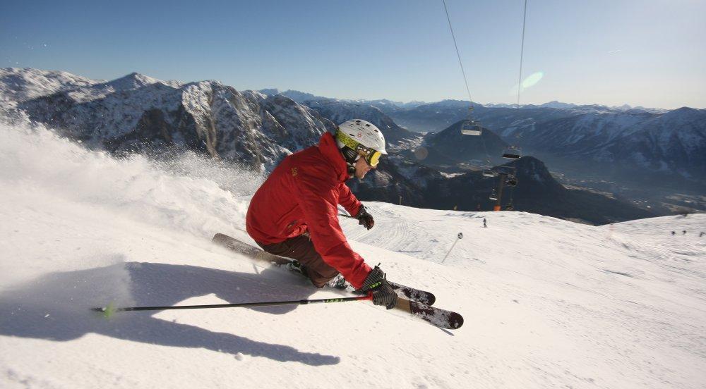 Skifahren Loser