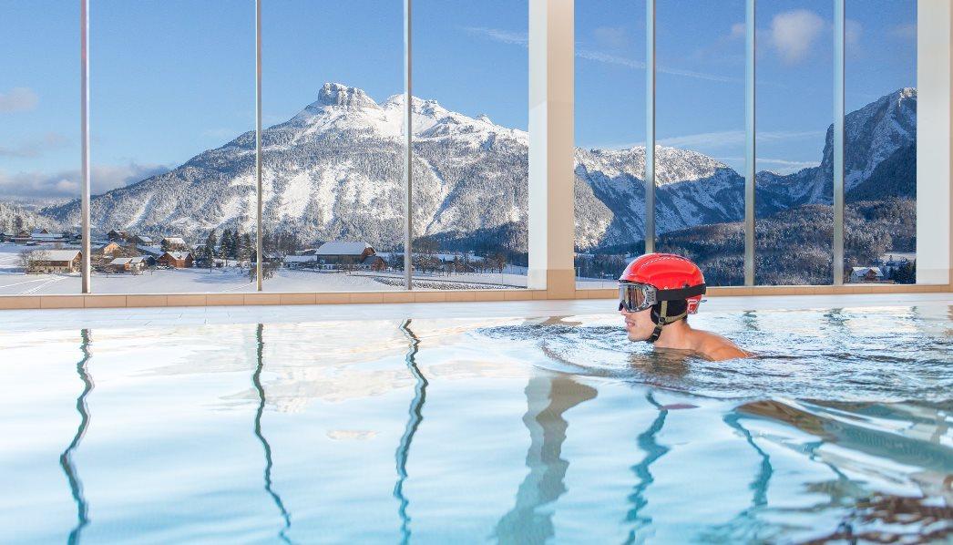 Ski und Spa Schwimmer Helm