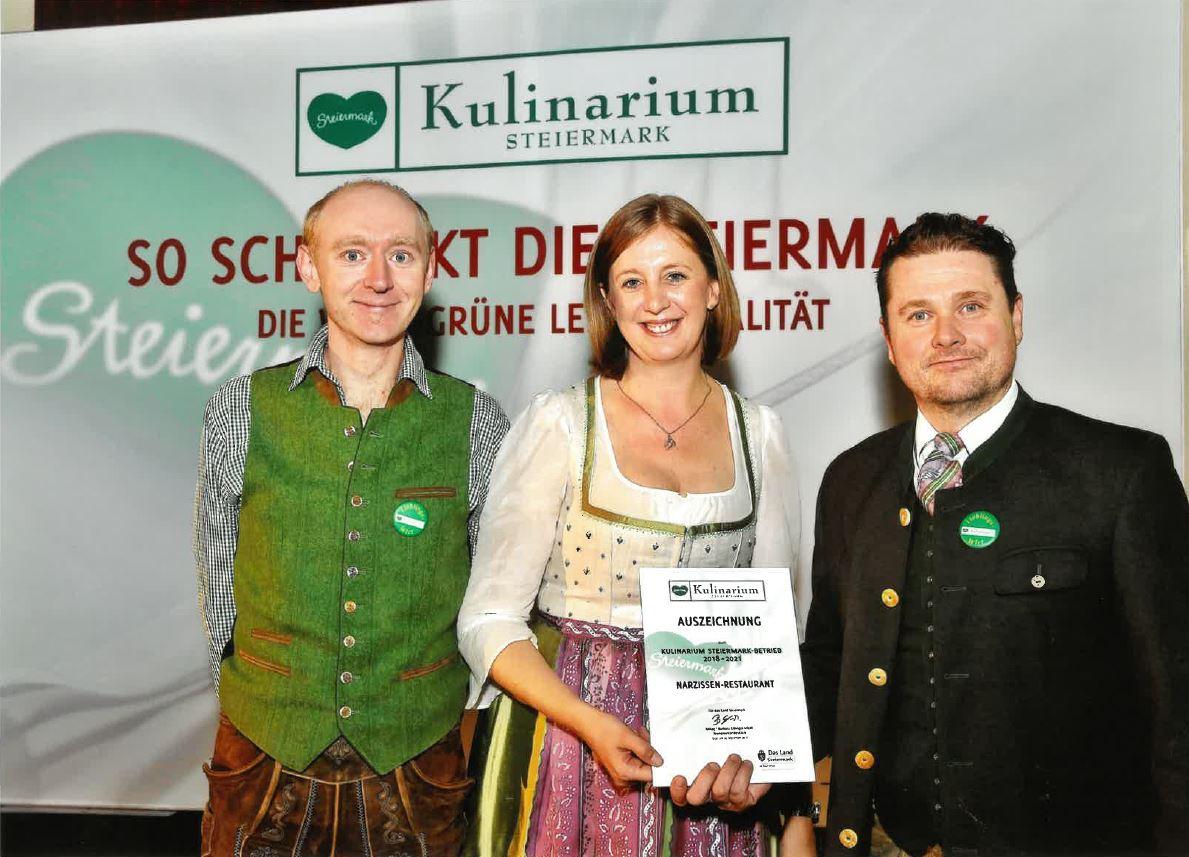 Kulinarik Steiermark Verleihung